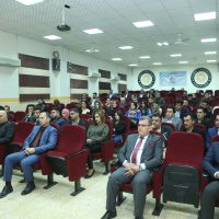 """A lecture titled """"Civil Procedural"""" Presented by the Judge (Abdullah Ali Ahmad) in the Law Department"""