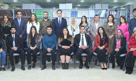 الطلبة الاوائل للسنة الدراسية 2017-2018 في جميع أقسام جامعة جيهان – أربيل
