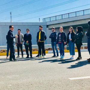 Scientific Visit to 120 m Road