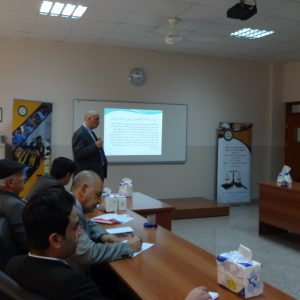 workshop entitled (The relationship between the KRG and the federal government – reality and future)held in the law department