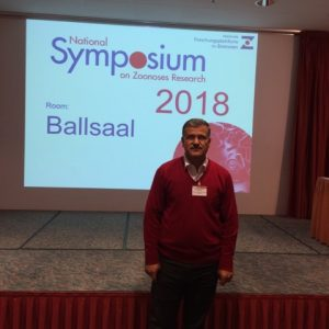 Biology department head participates in berlin conference