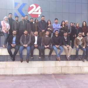 زيارة الى قناة كوردستان 24 الفضائية