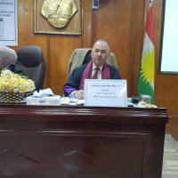 The Representative of the Department Participates in postgraduate discussions
