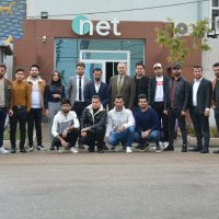 Department of Media at Cihan University organized a scientific visit to NET TV