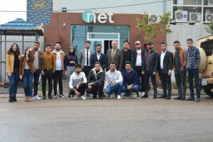 scientific visit to NET TV 04
