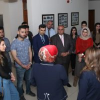 The Department of Business Administration honors the children of the orphanage in Erbil