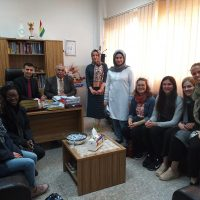A Delegation from Acorn organization Visits the Department of Business Administration