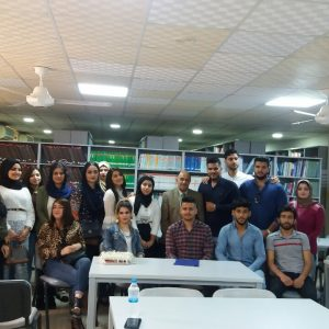 A scientific visit to the library of Cihan university for students of the second level