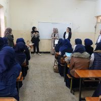 The Department Students in an Awareness Campaign