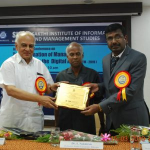 Prof. Murugesh Delivered the Key note Address of the Inaugural Session