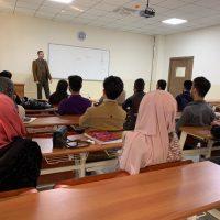 لقاء مع طلبة المرحلة الثانية