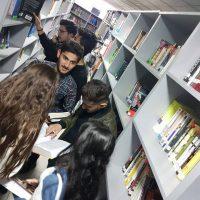 زيارة علمية لمكتبة الجامعة