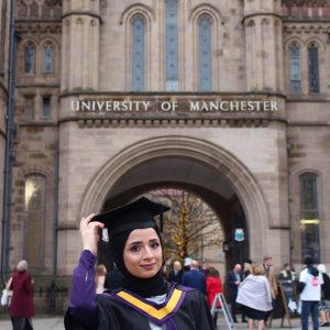 One Of The Students Of The Department Obtains A Master's Degree