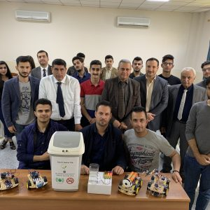 The first stage in the Department of Communication Engineering, conducted an exhibition of electrical circuits   course