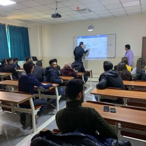 Solving Exercises For Electrical Circuits By Students Of The First Stage