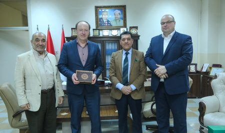 A Warsaw University Delegation Visits Cihan University-Erbil