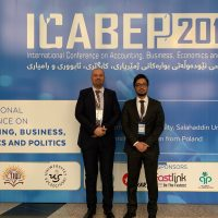 Participation of Accounting Department Teaching Staff Member in an International Scientific Conference