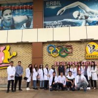 A Visit To The Erbil Sport Center For The First Level