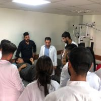 A Visit To The Physiotherapy Department Of Teaching Hospital/Erbil For The Second Level
