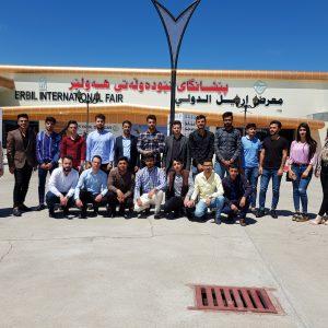 Scientific Visit to International Building Construction Exhibition in Erbil