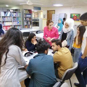Scientific Visit – University Library