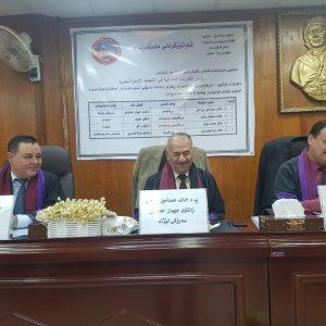 The Representative of the Department Participates in master discussions