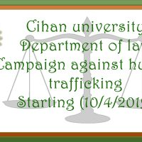Department Of Law ‎Undertake An Awareness Campaign On Human Trafficking Crimes