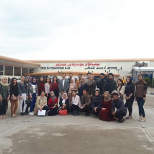 nutrition and Community Health Department Students Visit Erbil International Book Fair