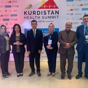Participation in Kurdistan Health Summit