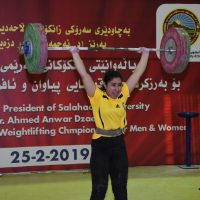 A student at Cihan University (Oshin Muhsin) achieved a new record.