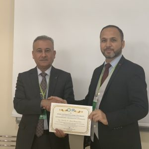 participation of one of the law department's professors in the first international conference at the Igdir University – Turkey