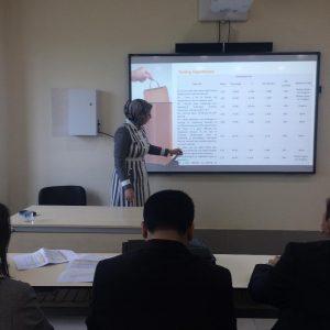 المشاركة في المؤتمر الدولي الثاني لجامعة تيشك