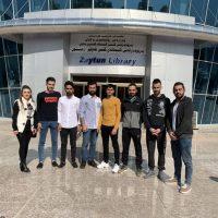 Scientific Visit to Zaytona Library