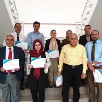 Distributing Certificates to Participants in The Advanced SPSS Training Course