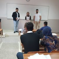 Scientific Class Activity For Students Of The Second Stage