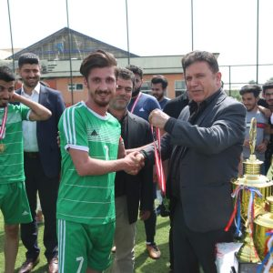 Accounting department wins the university championship