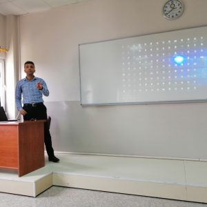 A training lecture on how to deal with personal webpage for faculty members