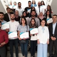 Distribution of Certificates to Fourth Stage Students Participating in the (SPSS) Training Course