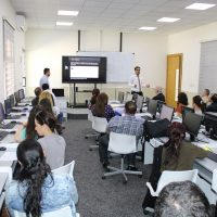 Attending a workshop about Google Scholar Citation at the Catholic University