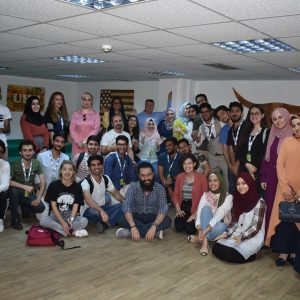 Participation in a workshop at the American Corner at the Kurdistan University