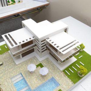 التقديم النهائي لمادة التصميم المعماري للمرحلة الاولى- الفصل الدراسي الثاني