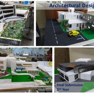 التقديم النهائي لمادة التصميم المعماري للمرحلة الثانية- الفصل الدراسي الثاني