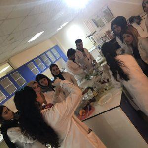 أبرز انشطة قسم التغذية في جامعة جيهان – اربيل  للعام الدراسي 2018-2019