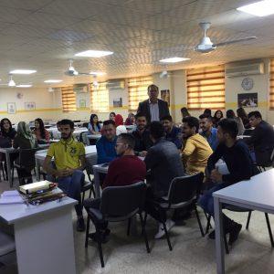 ابرز انشطة قسم المحاسبة للعام الدراسي 2018 – 2019