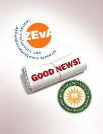 وهرگرتنی متمانه له لایهن ئاژانسى ZEvA بۆ بهشی ئهندازیاری تهلارسازی له زانكۆی جیهان – ههولێر