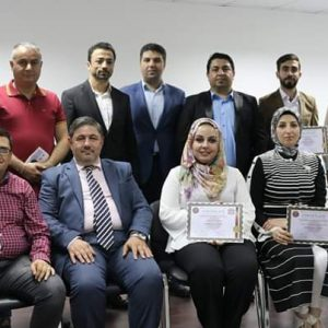 """Participating in a training course on """"marketing of deals"""""""