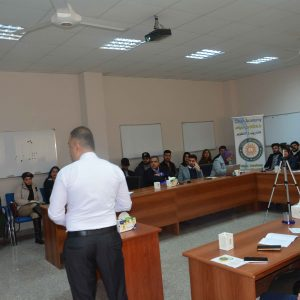 A joint workshop between Media Department and International Relations