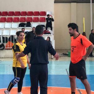A friendly handball game took place between the Cihan University-Erbil and the Stadium Institute