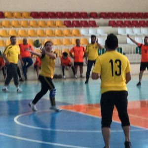 Organizing a friendly handball game between the Cihan University-Erbil and the Capital Institute for Sport