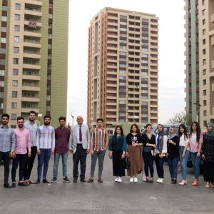Architectural Engineering students visited some residential complexes in Erbil